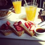 French Toast and freshly squeezed oj