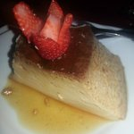 Flan with Amaretto