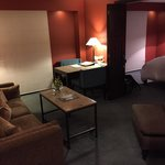 The living room in the Junior Luxury Suite - Room 805