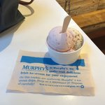 Amazing Ice Cream! Paired Bread Flavor with Strawberry... SO GOOD! Super Staff Make This Place E
