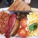Breakfast in Bloomsbury.