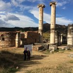 Church M and temple of Artemis