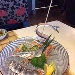 sanma sushimi 秋刀魚 ( 十月時令)