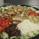 XL Catering Salad Bowl (Mediteranean) feeds approx. 20