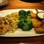 Entree as part of 4 course feast at Red Lobster, Gastonia - 15Oct14