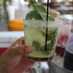 Fresh mint! Fresh everything - all locally sourced ingredients.