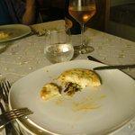 Gruß aus der Küche:kleine sizilianische Pizza