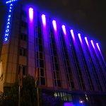 All Seasons Hotel_outside at night 1