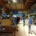 Grubes Fischerhütte Foto