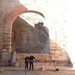 Roman baths at Arles