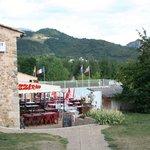"""Hier is restaurant 'La Ferme""""."""