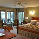 "the ""Loon"" guestroom at the Green Heron B&B"