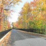 Private Roadway to Hampton Inn