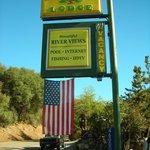 Hotel roadside sign
