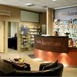 Body Sanctum Day Spa Queenstown - Reception and Lounge