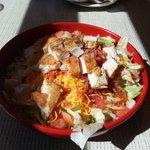 Grilled Chicken Salad at Johnny Rockets