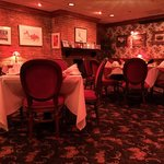Jacksonville Inn upper floor dining room at noon.