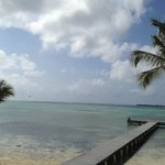Fabulous views and a white sandy beach