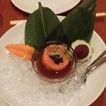 Salmon Tartare with Caviar...