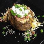 Jumbo loaded baked potato