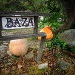 Hacienda Baza sign