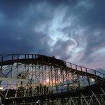 White Lightning Roller Coaster