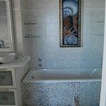 Schönes Bad der Delfin Suite