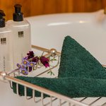 Luxury Cottages are fully provided with Bathroom Amenities