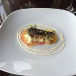 Seafood tasting menu@ The Cafe, Porlock Weir