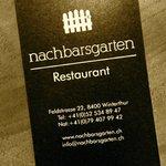 Nachbarsgarten Restaurant