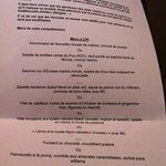 menu a 23€