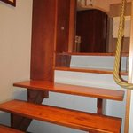 Лестница в ванную комнату