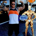 Arid Haugen  powerlifter strongman