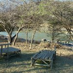 Relaxing place at Zingela