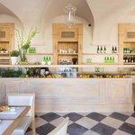 Wnętrze restauracji Focaccia