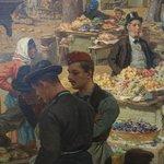 Alois Friedrich Schönn: Der Obstmarket auf dem Schanzel, Detail