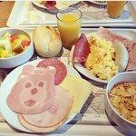 Lo mejor es el desayuno <3