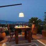 Tavern in Kaliviani, Kissamos, Crete, Greece