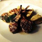 Lamb Chops with Polenta