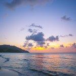 Stunning sunset at the Renaissance St. Croix