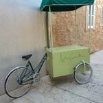restaurant bike!