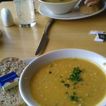 superb soups..Lentil ......Carrot & Coriander