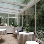 The Conservatory where breakfast is served.