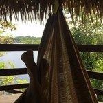 relax in je hangmat, Juma Amazon Lodge.