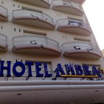 insegna dell'hotel