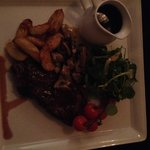 Steak with Red Wine Jus