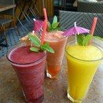 Tropical Blended Drinks