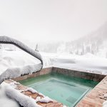 Mountain View Outdoor Hot Tub