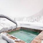 Mountain View Outdoor Hot Tub