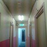 Corridoio e stanze